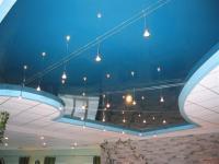 Натяжной потолок - оригинально и практично!